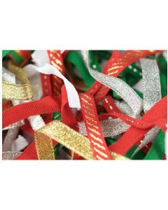 Christmas Ribbons Assorted 35g