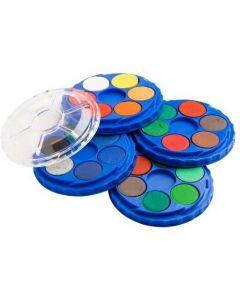 Watercolour Disc Paint Set 24 Colours