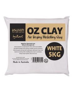 Air Dry White Modelling Clay 5kg