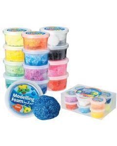 Modelling Foam Set Assorted 12pcs