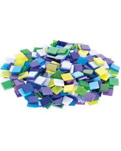 Deco Mosaic Tiles Cool Colours 150g