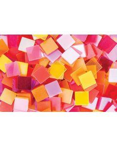 Deco Mosaic Tiles Warm Colours 150g