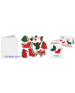 Christmas Card and Felts Kit
