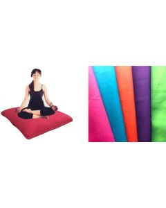 Giant Floor Cushion With Polyester Filled Insert 90cm x 90cm ORANGE