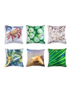 At the Beach Cushion COVERS ONLY Set of 6