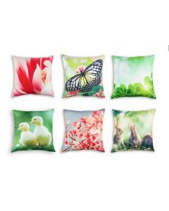 Springtime Cushion COVERS ONLY Set of 6