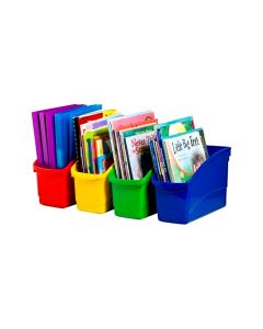 Book and Storage Tubs Set of 4