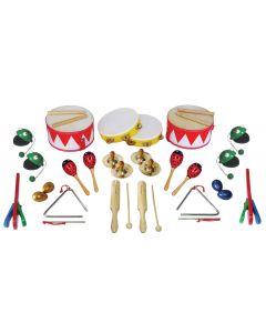 Metronomic Percussion Collection 34pcs