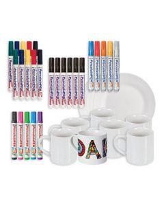 Ceramics Decorator's Kit
