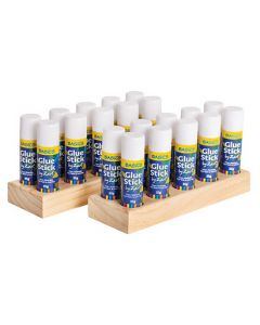 Glue Sticks 35g (20pcs) and Two Wooden Holders
