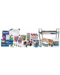 Huge Back to School Art & Craft Materials Kit 11080pcs (no trolley)