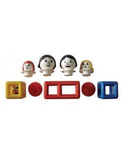 Mobilo White Family 9pcs