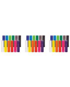 Colour Paint Slicks 36pcs