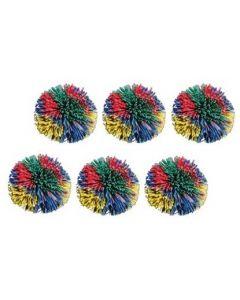Pom Pom Balls 11.5cm Set of 6