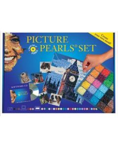 Iron-On Picture Pearls Starter Set in 30 Colours