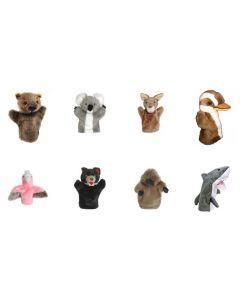 Australian Animal Hand Puppets 8pcs