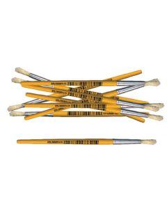 Paint Brushes Mini Stubby Round 12pcs