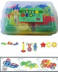 Mini Geofix Maxi School Set With 76 Work Cards 776pcs