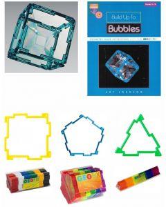 3D Bubble Geometry Set 145pcs