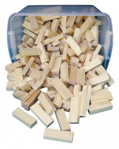 Timber! Building & Game Tiles 288pcs