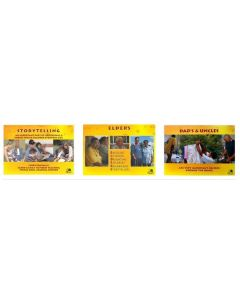 Aboriginal Posters: Storytelling, Elders and Dads & Uncles Set of 3
