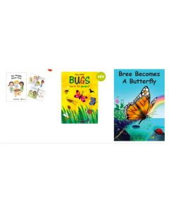 Our Wriggly Worm Farm, How Many Bugs Are in the Garden and Bree Becomes a Butterfly Big Books Set