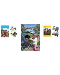 Let's Learn About Healthy Eating, Let's Learn About Compost and Let's Learn About Vegetable Gardens Big Books Set