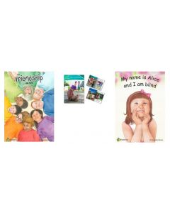 Friendship, Let's Learn How to Stop Bullying and My Name is Alice and I Am Blind Big Books Set