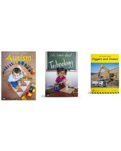 Let's Learn about Autism, Technology and Diggers and Dozers Big Books Set