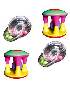 Babies Rattle and Teether Set 4pcs
