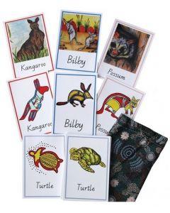 Australian Indigenous Animal Memory Cards 32pcs