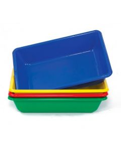 Coloured Sand & Water Playtrays Set of 4