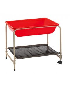 Foldaway Sand & Water Stand With Coloured Tray