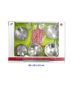 Stainless Steel Cookware 9pcs