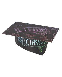 Scratch Art Graduation Hats 10pcs